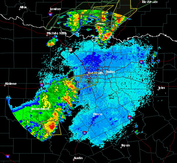 Radar Image for Severe Thunderstorms near Cleburne, TX at 5/19/2017 11:25 PM CDT