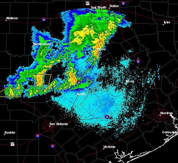 Radar Image for Severe Thunderstorms near Buchanan Dam, TX at 5/20/2017 1:41 AM CDT