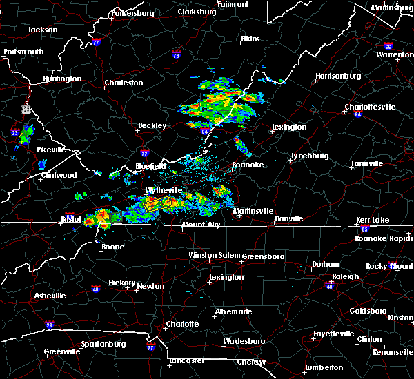 Radar Image for Severe Thunderstorms near Mountain City, TN at 5/20/2017 2:56 PM EDT