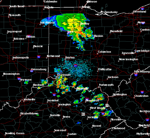 Radar Image for Severe Thunderstorms near Dayton, OH at 5/20/2017 3:15 PM EDT