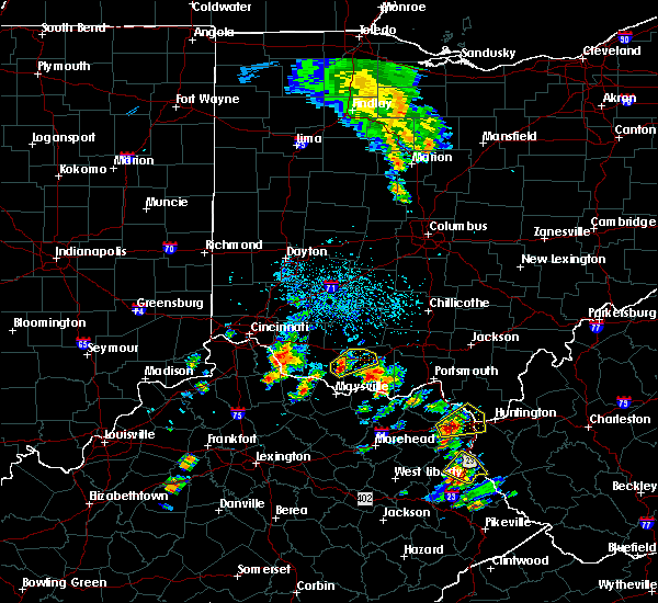 Radar Image for Severe Thunderstorms near Winchester, OH at 5/20/2017 3:49 PM EDT