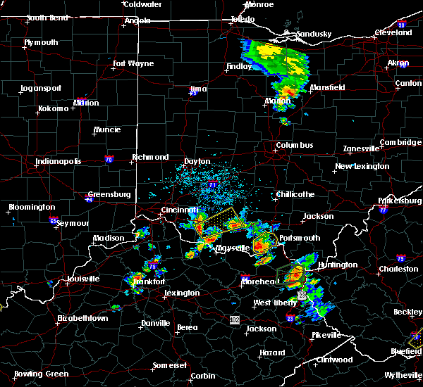 Radar Image for Severe Thunderstorms near West Portsmouth, OH at 5/20/2017 4:31 PM EDT