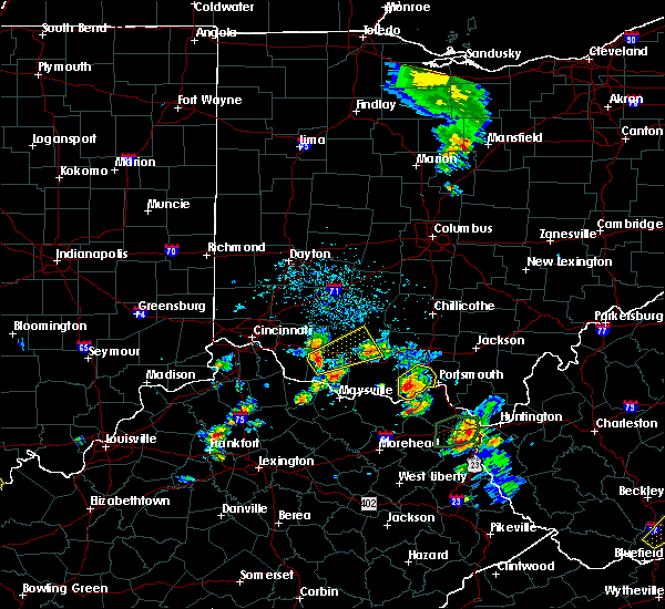 Radar Image for Severe Thunderstorms near Winchester, OH at 5/20/2017 4:35 PM EDT