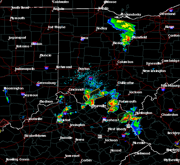 Radar Image for Severe Thunderstorms near West Portsmouth, OH at 5/20/2017 4:47 PM EDT