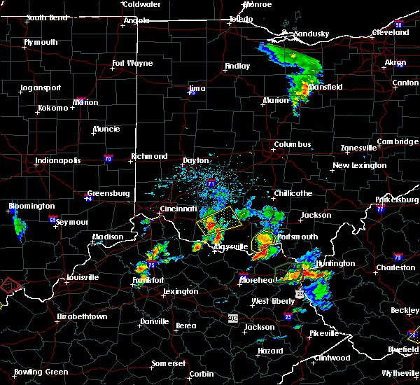 Radar Image for Severe Thunderstorms near Winchester, OH at 5/20/2017 4:56 PM EDT