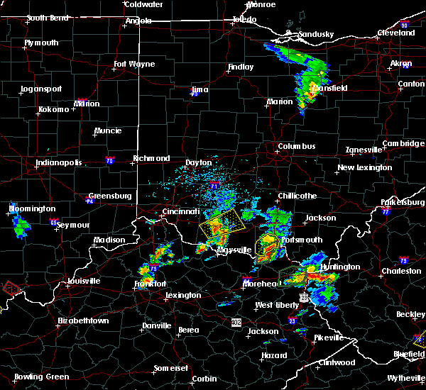 Radar Image for Severe Thunderstorms near West Portsmouth, OH at 5/20/2017 4:59 PM EDT