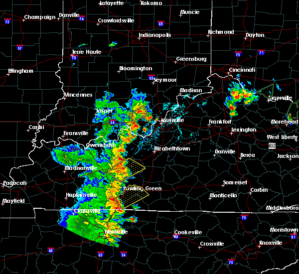 Radar Image for Severe Thunderstorms near New Salisbury, IN at 5/20/2017 5:56 PM EDT