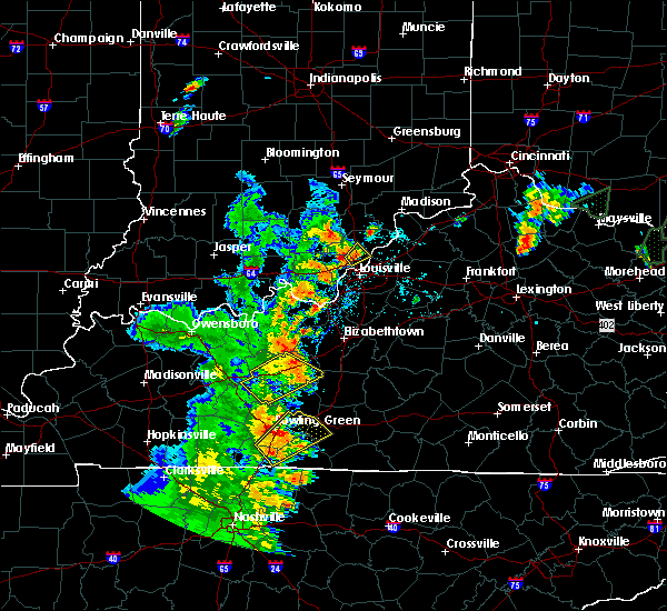 Radar Image for Severe Thunderstorms near Jeffersonville, IN at 5/20/2017 6:11 PM EDT