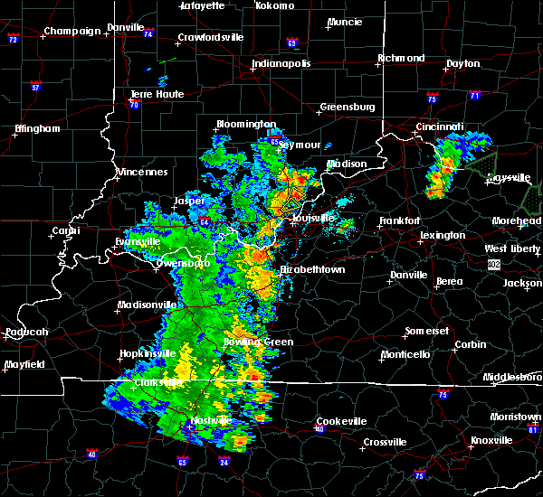 Radar Image for Severe Thunderstorms near Jeffersonville, IN at 5/20/2017 6:40 PM EDT