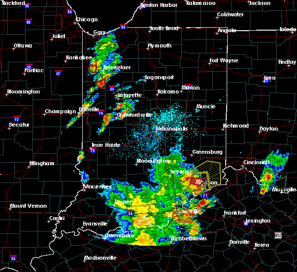 Radar Image for Severe Thunderstorms near Versailles, IN at 5/20/2017 7:30 PM EDT
