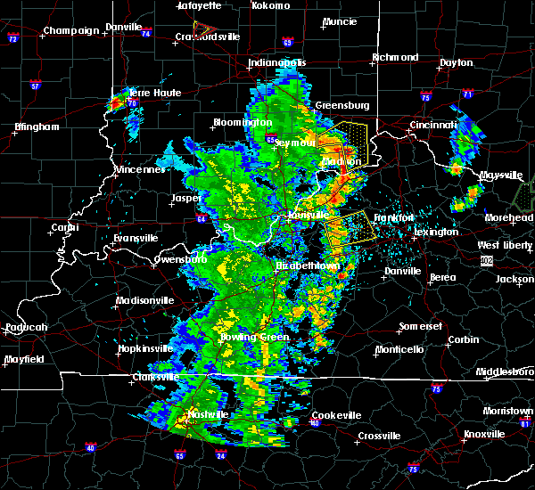 Radar Image for Severe Thunderstorms near Frankfort, KY at 5/20/2017 7:49 PM EDT