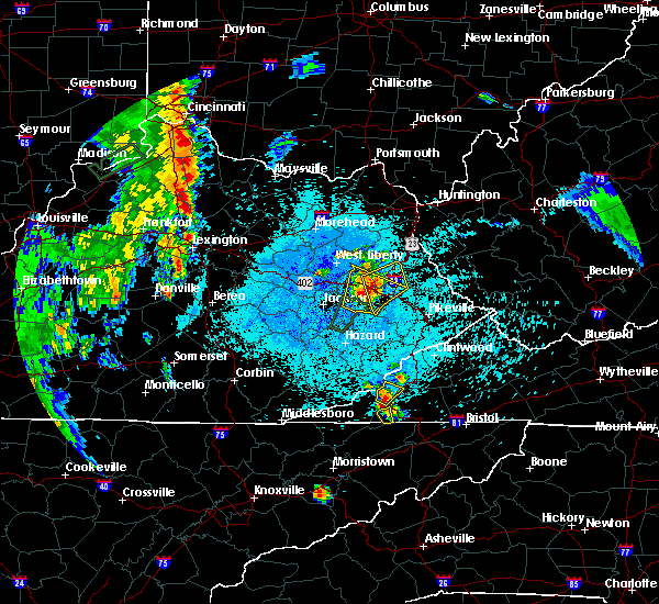 Radar Image for Severe Thunderstorms near Auxier, KY at 5/20/2017 9:17 PM EDT
