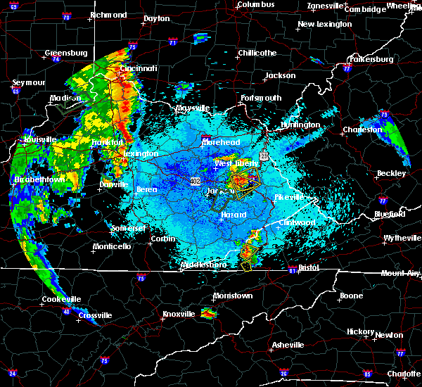 Radar Image for Severe Thunderstorms near Auxier, KY at 5/20/2017 9:29 PM EDT