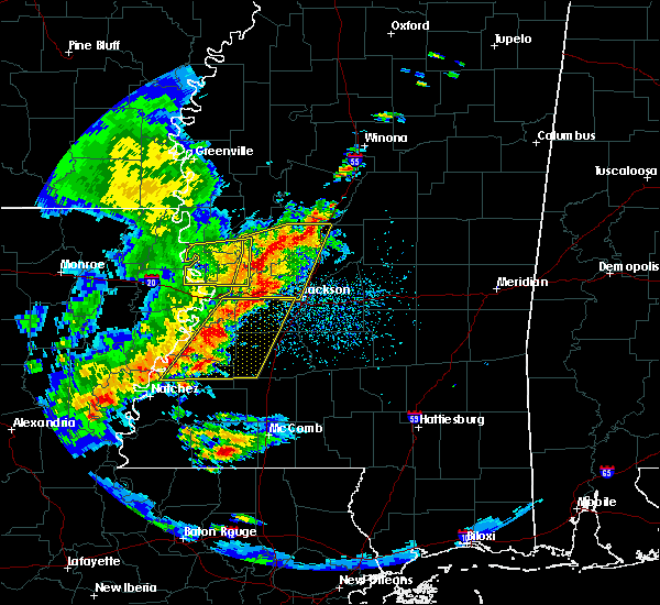 Radar Image for Severe Thunderstorms near Utica, MS at 5/21/2017 3:00 PM CDT