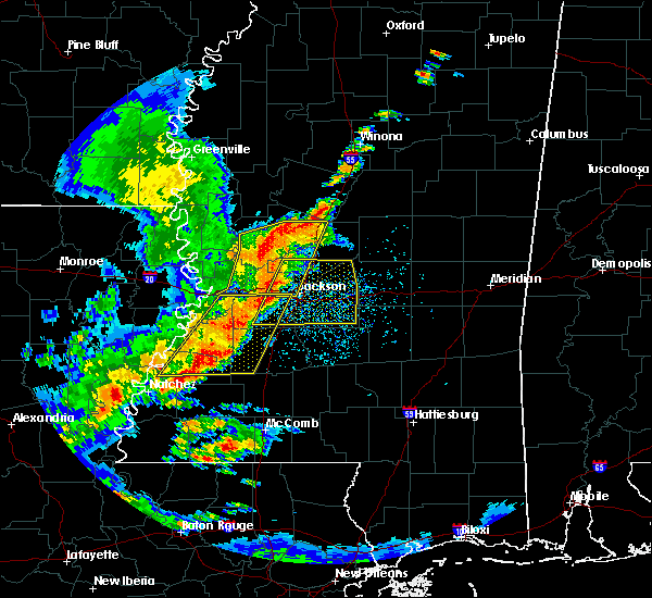 Radar Image for Severe Thunderstorms near Flora, MS at 5/21/2017 3:15 PM CDT