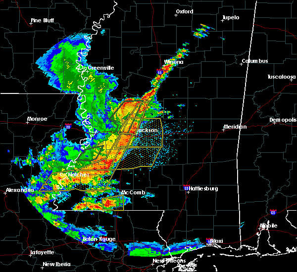 Radar Image for Severe Thunderstorms near Raymond, MS at 5/21/2017 3:40 PM CDT
