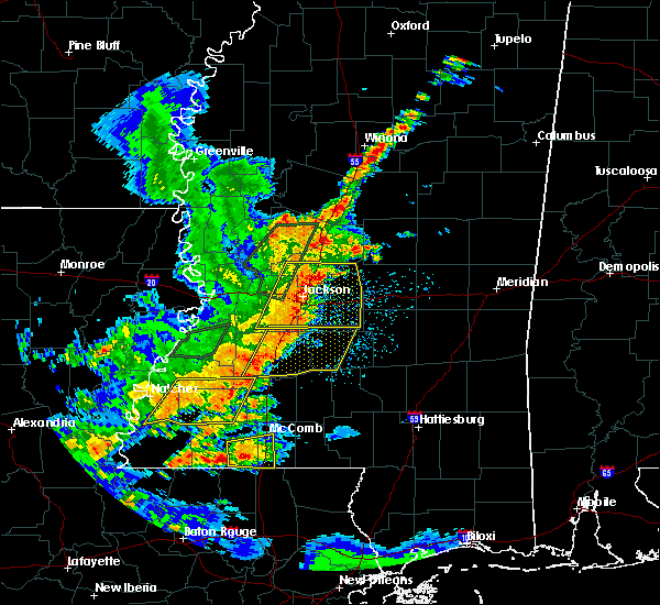 Radar Image for Severe Thunderstorms near Roxie, MS at 5/21/2017 3:49 PM CDT