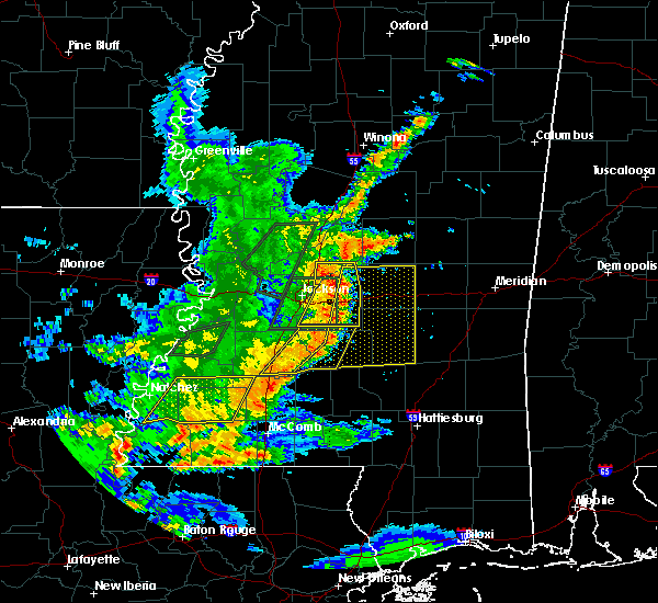 Radar Image for Severe Thunderstorms near Brandon, MS at 5/21/2017 4:14 PM CDT