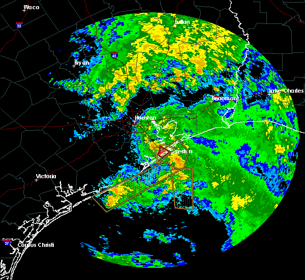Radar Image for Severe Thunderstorms near Texas City, TX at 5/22/2017 11:38 AM CDT
