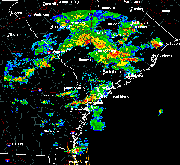 Radar Image for Severe Thunderstorms near Port Wentworth, GA at 5/22/2017 5:10 PM EDT