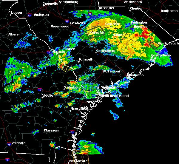 Radar Image for Severe Thunderstorms near Girard, GA at 5/22/2017 6:25 PM EDT
