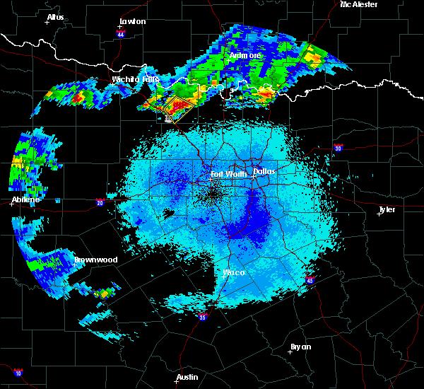 Radar Image for Severe Thunderstorms near Sunset, TX at 5/22/2017 11:35 PM CDT