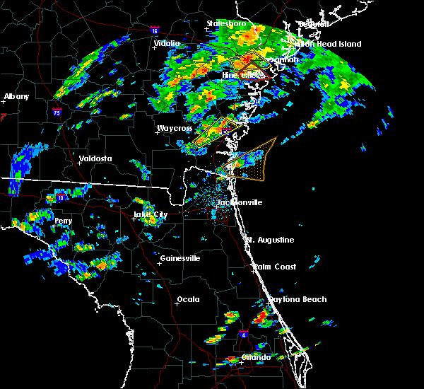 Radar Image for Severe Thunderstorms near Dock Junction, GA at 5/23/2017 5:22 PM EDT