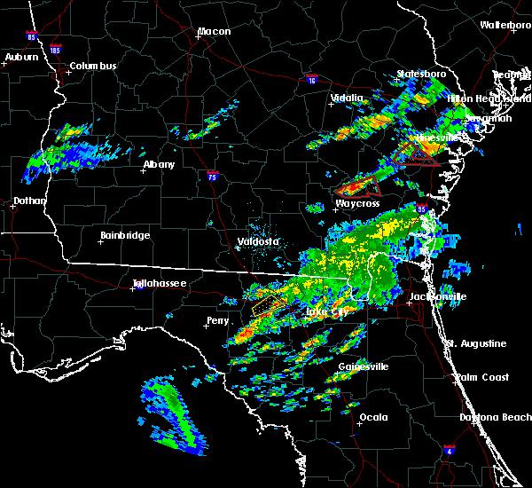 Radar Image for Severe Thunderstorms near Live Oak, FL at 5/23/2017 8:38 PM EDT