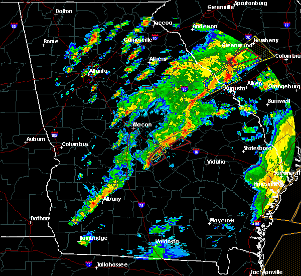 Radar Image for Severe Thunderstorms near Cochran, GA at 5/24/2017 2:42 PM EDT