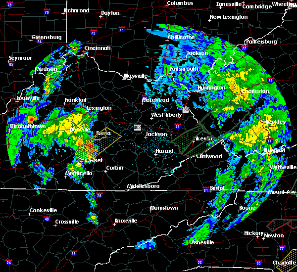 Radar Image for Severe Thunderstorms near Berea, KY at 5/24/2017 4:17 PM EDT