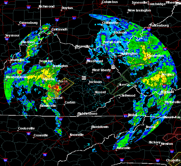 Radar Image for Severe Thunderstorms near Mount Vernon, KY at 5/24/2017 4:26 PM EDT