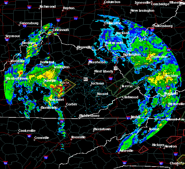 Radar Image for Severe Thunderstorms near Berea, KY at 5/24/2017 4:32 PM EDT