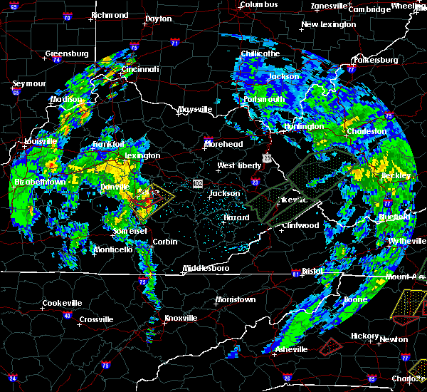Radar Image for Severe Thunderstorms near Berea, KY at 5/24/2017 4:45 PM EDT