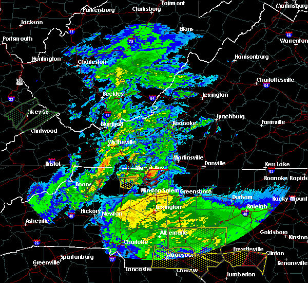 Radar Image for Severe Thunderstorms near King, NC at 5/24/2017 5:14 PM EDT