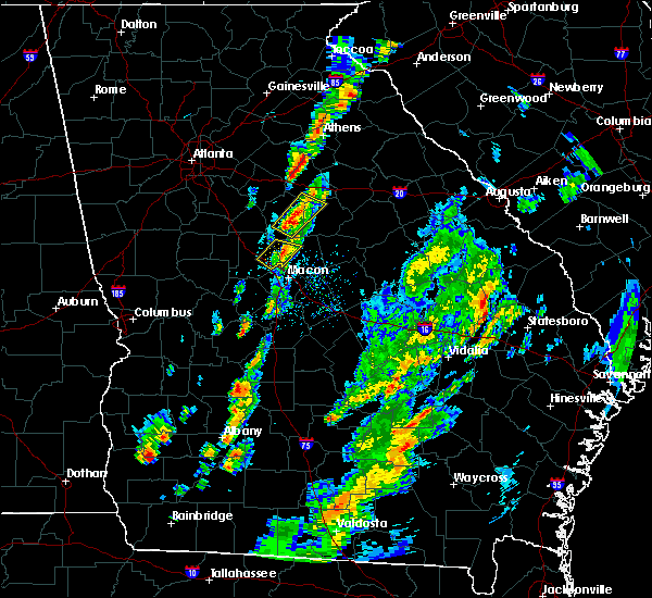 Radar Image for Severe Thunderstorms near Shady Dale, GA at 5/24/2017 5:48 PM EDT