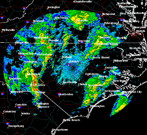 Radar Image for Severe Thunderstorms near Candor, NC at 5/25/2017 2:05 AM EDT