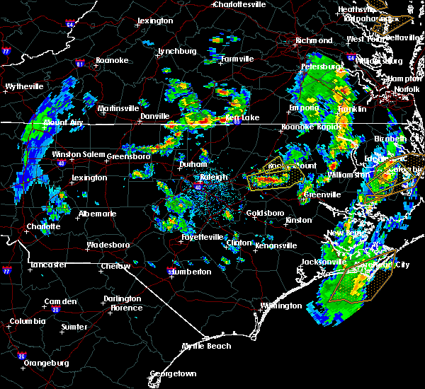 Radar Image for Severe Thunderstorms near Dortches, NC at 5/25/2017 4:56 PM EDT