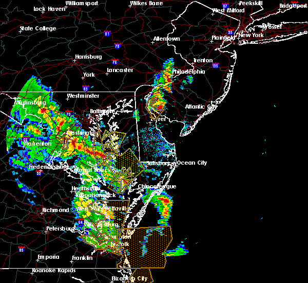 Radar Image for Severe Thunderstorms near Kent Narrows, MD at 5/25/2017 5:52 PM EDT