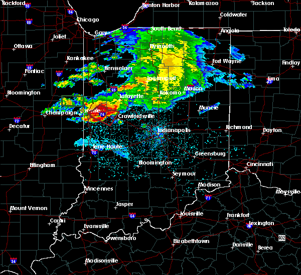 Radar Image for Severe Thunderstorms near Waynetown, IN at 5/26/2017 7:46 PM EDT