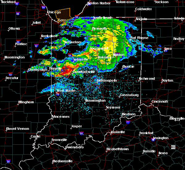 Radar Image for Severe Thunderstorms near Hillsboro, IN at 5/26/2017 7:59 PM EDT