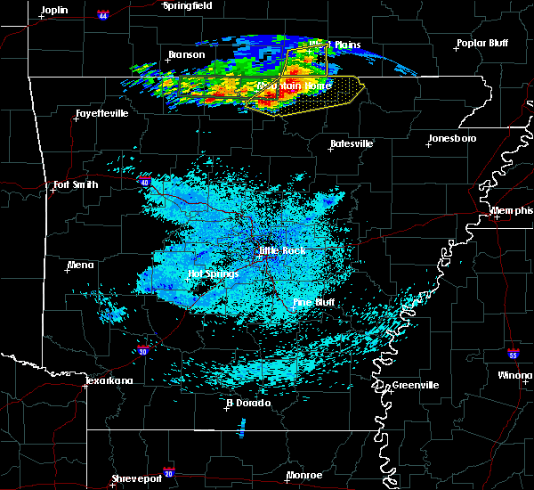 Radar Image for Severe Thunderstorms near Hardy, AR at 5/27/2017 3:30 AM CDT