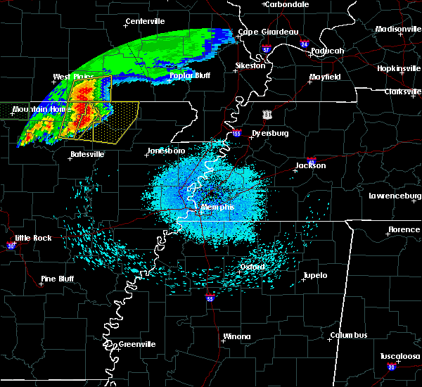 Radar Image for Severe Thunderstorms near Ash Flat, AR at 5/27/2017 4:21 AM CDT