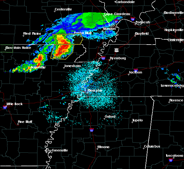 Radar Image for Severe Thunderstorms near Delaplaine, AR at 5/27/2017 5:19 AM CDT