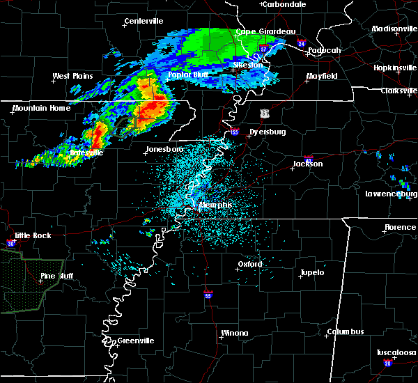 Radar Image for Severe Thunderstorms near McDougal, AR at 5/27/2017 5:28 AM CDT