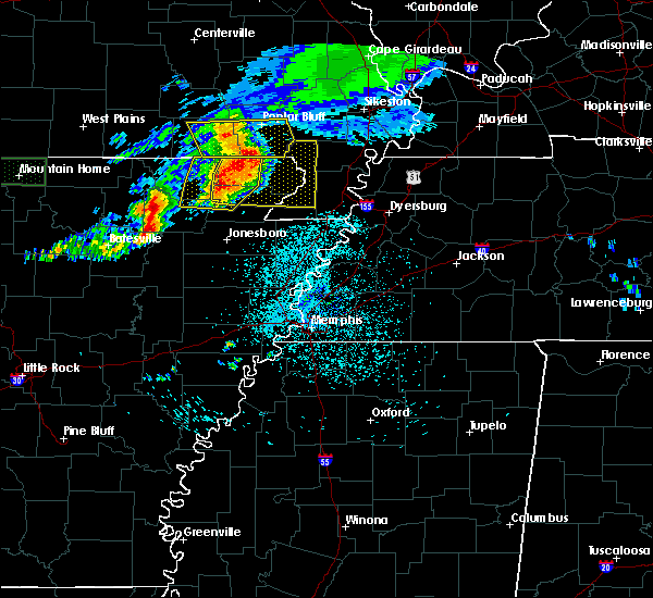 Radar Image for Severe Thunderstorms near Rector, AR at 5/27/2017 5:28 AM CDT