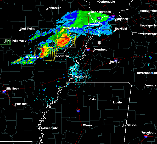 Radar Image for Severe Thunderstorms near McDougal, AR at 5/27/2017 5:46 AM CDT