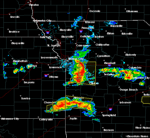 Radar Image for Severe Thunderstorms near Deepwater, MO at 5/27/2017 1:08 PM CDT