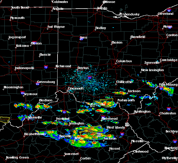 Radar Image for Severe Thunderstorms near Otway, OH at 5/27/2017 4:42 PM EDT