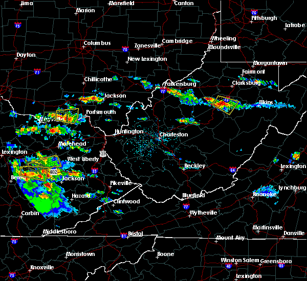 Radar Image for Severe Thunderstorms near Weston, WV at 5/27/2017 4:52 PM EDT