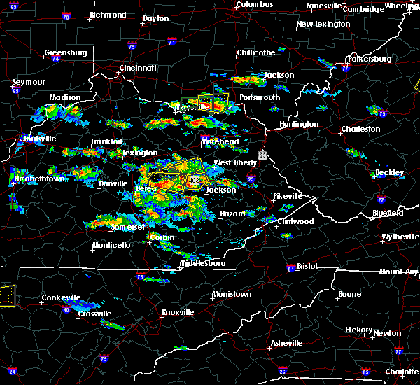 Radar Image for Severe Thunderstorms near Hazel Green, KY at 5/27/2017 4:54 PM EDT